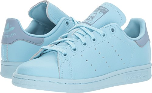 new style 7c4e6 db3f0 adidas Originals Boys' Stan Smith J Sneaker, Ice Blue/Ice Blue/Tactile  Blue, 5.5 Medium US Big Kid