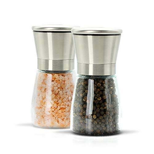 Salt Pepper Grinder Adjustable Coarseness