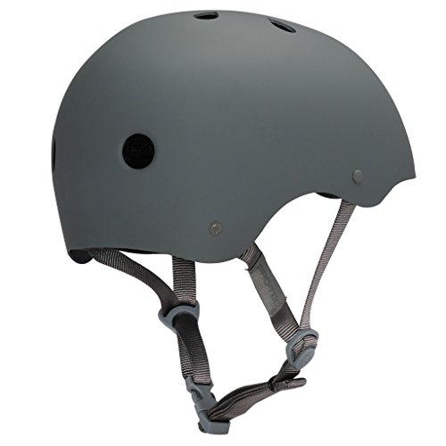 PROTEC Original Classic Skate Helmet, Matte Grey, Medium