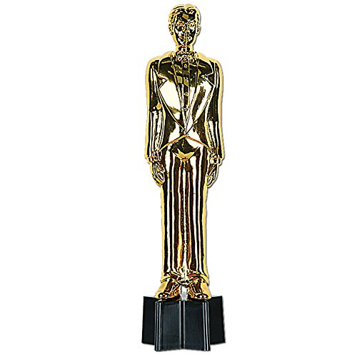 Awards Night Gold Male Statuette 9