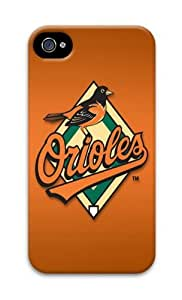 Baltimore Orioles PC Case Cover For iPhone 5 And iPhone 5S 3D