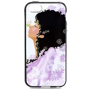 Cubierta Posterior - Gráfico/Diseño Especial/Innovador - para iPhone 5/iPhone 5S ( Multicolor , TPU )