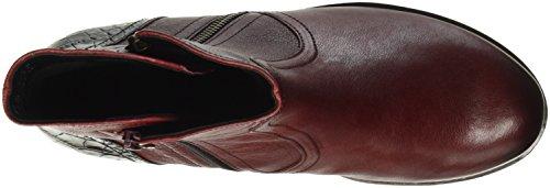 Stivali Comfort Donna Micro dark Rosso Gabor red Chelsea Sport qFRSnq7E