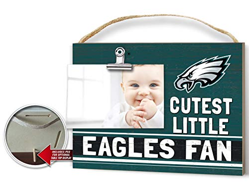KH Sports Fan Clip It Colored Baby Logo Photo Frame Philadelphia Eagles ()