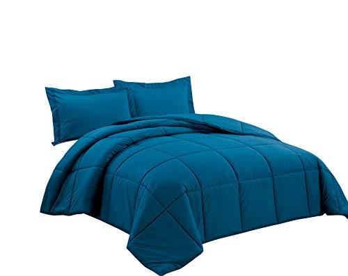 Chezmoi Collection Down Alternative Comforter 3-Piece Queen