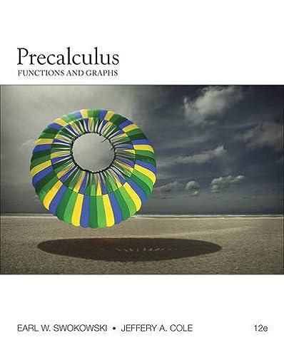 precalculus functions and graphs earl swokowski jeffery cole rh amazon com