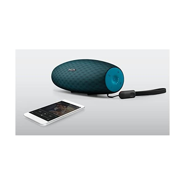 Philips Everplay BT7900A Enceinte Bluetooth Waterproof, Antichoc, avec Dragonne USB, 10h Autonomie, Bleu 5
