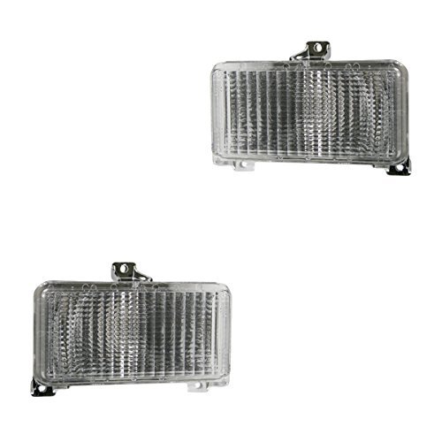 84 85 86 Gmc Van - Side Marker Parking Turn Signal Corner Lights Pair Set for 83-91 Chevy GMC Van