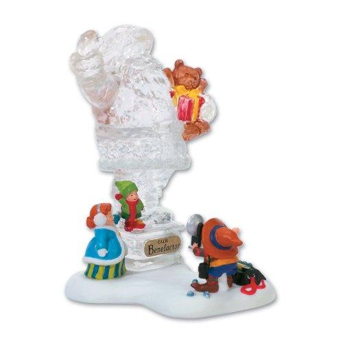 Dept 56 - North Pole Village - Cringle Street Town Santa Figurine by Department 56 - - 56 Santa Dept