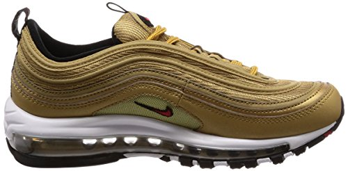 OG 97 QS Metallic Air Gold Trainer Varsity Gold Red Metallic