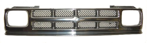 OE Replacement Chevrolet S10 Pickup/S10 Blazer Grille Assembly (Partslink Number GM1200326)