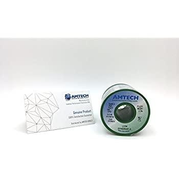 AMTECH SAC305-2.2% LF-NC61 Rosin Core - Lead-free No-clean Solder Wire (0.010