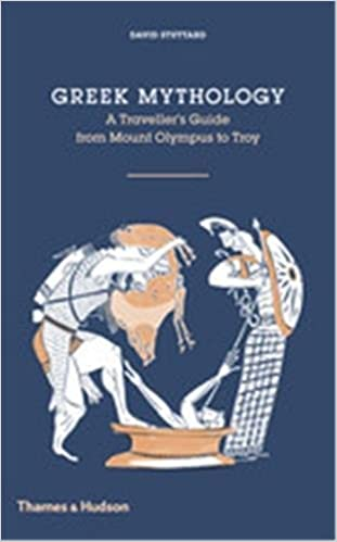 Book cover - Greek Mythology: A Traveller's Guide from Mount Olympus to Troy