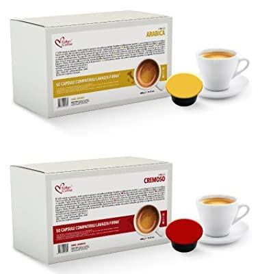 Italian Coffee capsules compatible with RIVO machines