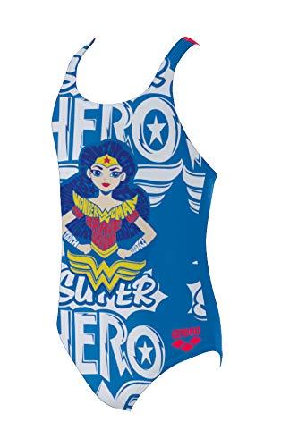 843e9d7e04ea Arena G Super Hero Jr, Costume Tech da Allenamento Bambine e Ragazze,  Wonder Woman