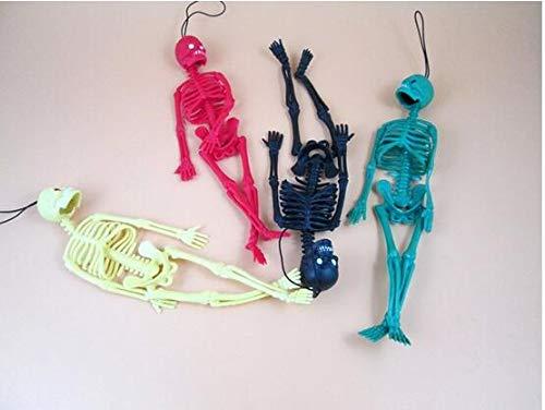 Autumn Water 4pcs/lot New 20cm Scary Halloween Toys Tricky Toys Children's Toys Skeleton Skeleton Model,Key Buckle,Action Figure,Fun Toys