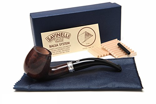 Smooth Pipe (Savinelli Trevi Smooth 602 Tobacco Pipe)