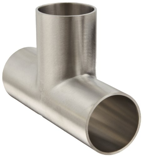 - Dixon B7W-G150P Stainless Steel 304 Polished Fitting, Weld Long Tee, 1-1/2