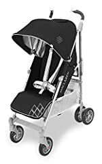 Award-winning style, features, and safety. Techno XT sets the standard for easy maneuvering and smooth ride in a full-sized umbrella fold buggy. Featuring a full recline 4-position seat with convenient one-handed adjustment and extendable leg...