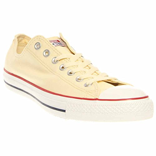 Converse Unisex Chuck Taylor All Star Low Top Natural Sneakers, Natural White, 11 B(M) US Women / 9 D(M) US Men