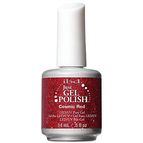 - IBD Just Gel Nail Polish, Cosmic Red, 0.5 Fluid Ounce