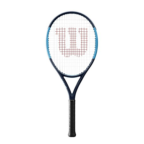 Wilson Ultra 26 Junior Tennis Racquet Strung Synthetic Gut Power String in White Color For Sale