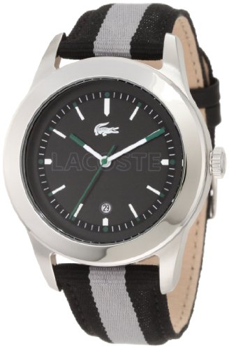 Lacoste Men's 2010613 Advantage Grey Grosgrain Watch