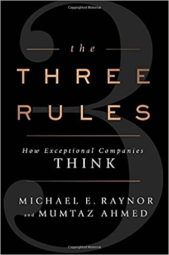 Amazon com: The Three Rules: How Exceptional Companies Think