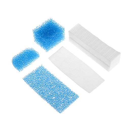Sarora - 5Pcs/1Set HEPA Filter Kit for Thomas Twin Genius 787203 Vacuum Cleaner Parts New