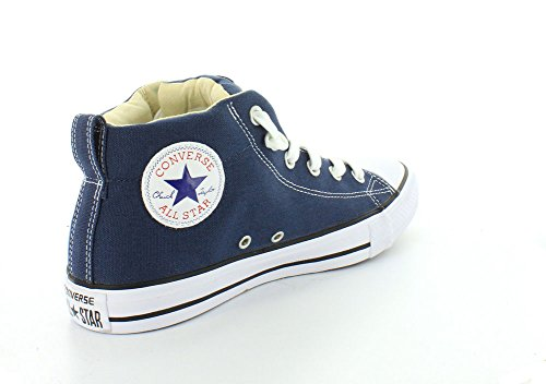 natural white Top Mid Sneaker Converse Street Navy Men's Canvas nCqwTTfx7z