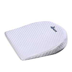 Aurelius Universal Bassinet Wedge for Baby Acid Reflux and Newborn Nasal Congestion Reducer | Baby Reflux Wedge Pillow for Better Night Sleeping