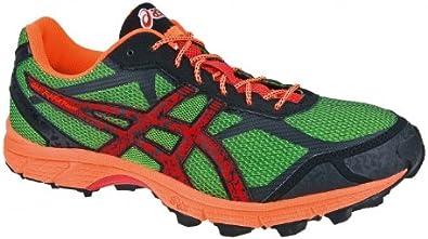 ASICS Gel-Fuji Fell Racer 2 Zapatilla de Trail Running Caballero, Verde/Negro, 38: Amazon.es: Zapatos y complementos