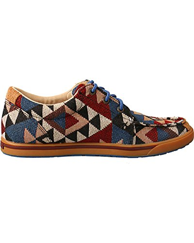 Twisted X Dames Hooey Aztec Patroon Canvas Casual Schoenen Grafisch Patroon Canvas