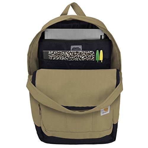 49c79de8f7 Carhartt D89 Backpack, Field Khaki - Import It All