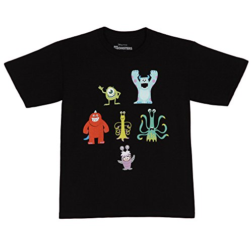 Monsters Inc. Monster Poses Youth T-Shirt (Small (6/8))