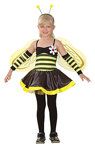 Uk Up Childrens Dressing Outfits (Large Girls Bumble Bee)