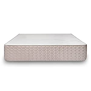 Brentwood Home S-Bed Latex and Gel Memory Foam Mattress, Made in California, Firm, Twin