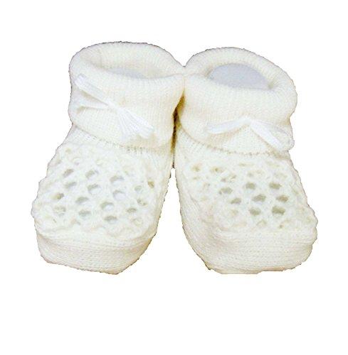 nbsp;taille Nœud Crochet Unique Crème nbsp;– Détails Mignon En Chaussons Avec xAU8FRzw