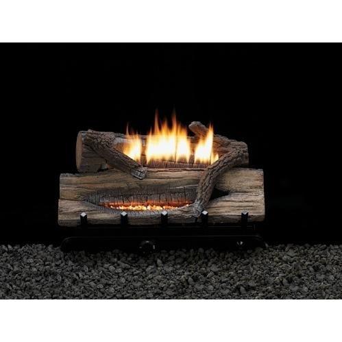 MV 6-piece 18 inch 10000 BTU Refractory Log Set - Natural Gas ()
