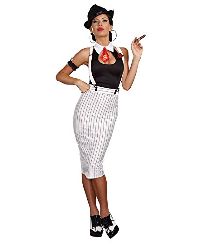 Womens Dirty Work Gangster Costumes (Dirty Work Adult Costume - X-Large)