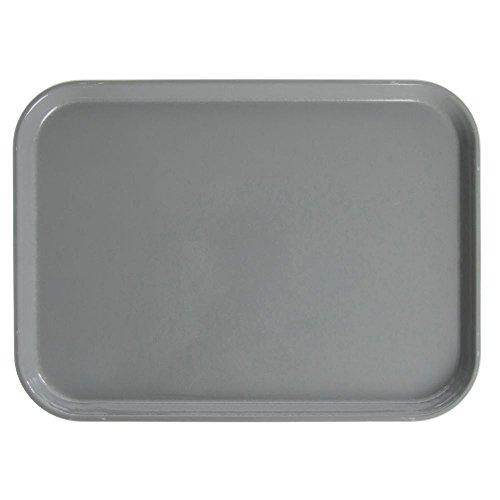 (Cambro Camtray Rectangular Pearl Grey Fiberglass Tray - 18