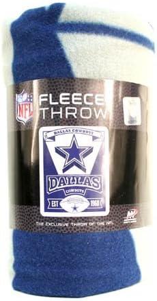 Marquee Design Dallas Cowboys Fleece Throw Blanket