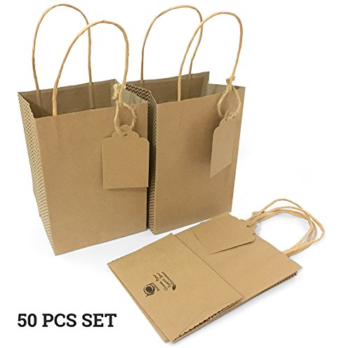 Brown Paper Bag String Handle - 3