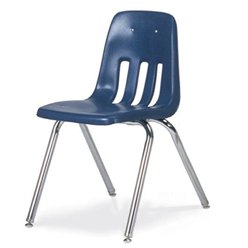 Virco Stacking Chair - Economy Stacking Chair, 16