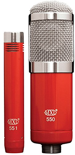 MXL 550/551R Microphone Ensemble by MXL Mics