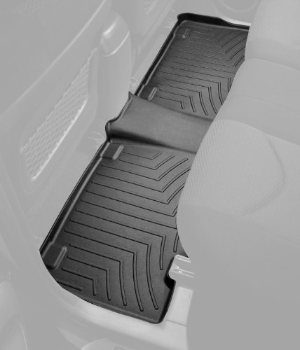 WeatherTech Rear FloorLiner for Select Subaru Impreza Models Black