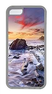 iPhone 5c case, Cute Coastal iPhone 5c Cover, iPhone 5c Cases, Soft Clear iPhone 5c Covers