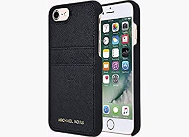 Michael Kors Saffiano Leather Pocket Case for iPhone 8 & iPhone 7 ...