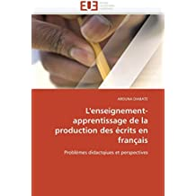 Amazon french foreign language books books lenseignement apprentissage de la production des crits en franais problmes didactqiues et fandeluxe Gallery