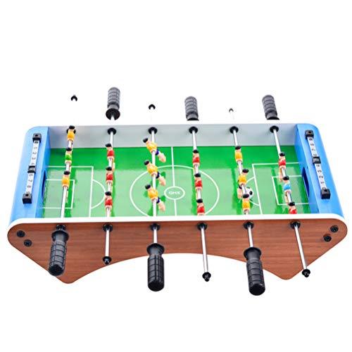 Action Table Foosball Soccer (Toyvian Tabletop Foosball Table Portable Six Shots Soccer Game Set Football Board Machine Interactive Intelligence Desktop Game)